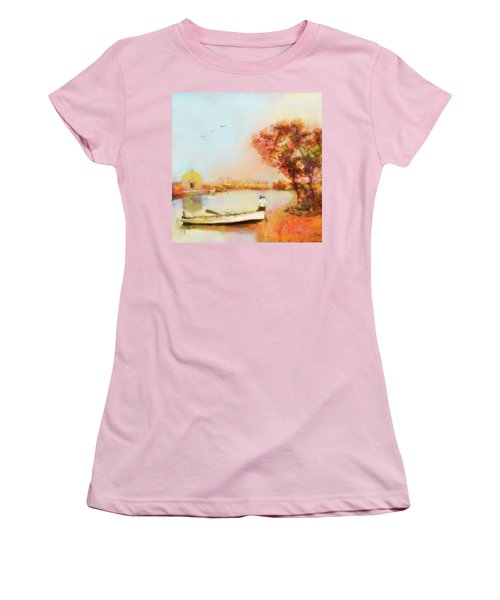 The Life Of A Fisherman Women's T-Shirt (Athletic Fit)