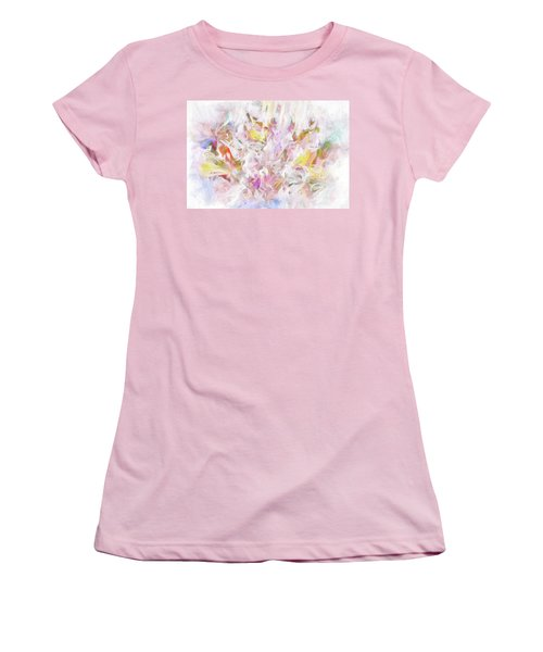 Women's T-Shirt (Athletic Fit) featuring the digital art The Tender Compassions Of God by Margie Chapman