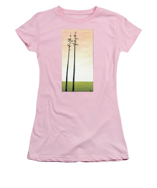 The Trees Are So Tall Here   Women's T-Shirt (Athletic Fit)