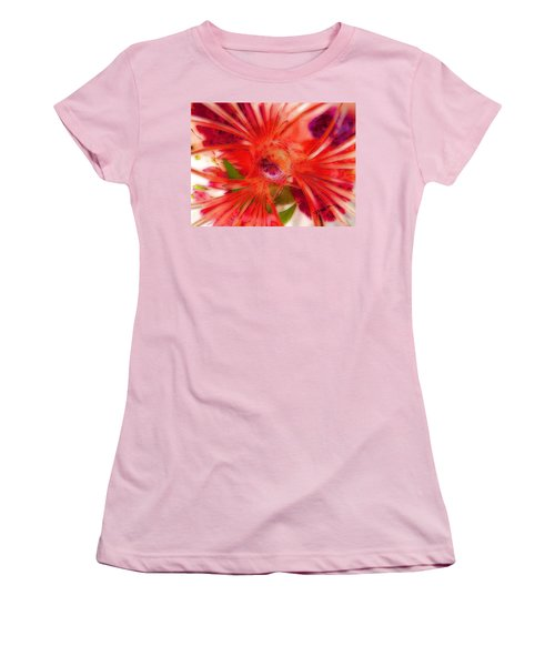 Think Outside The Vase #8801_1 Women's T-Shirt (Junior Cut) by Barbara Tristan