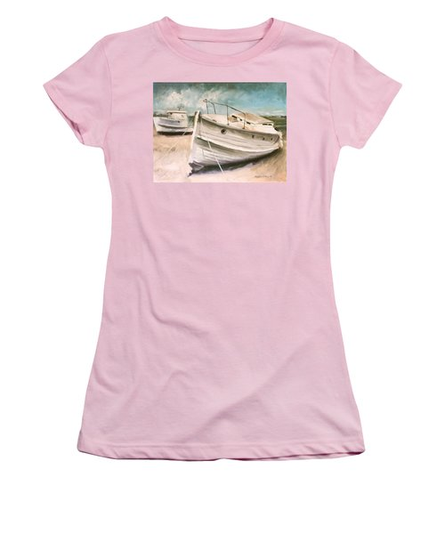 Tide Is Out Women's T-Shirt (Athletic Fit)