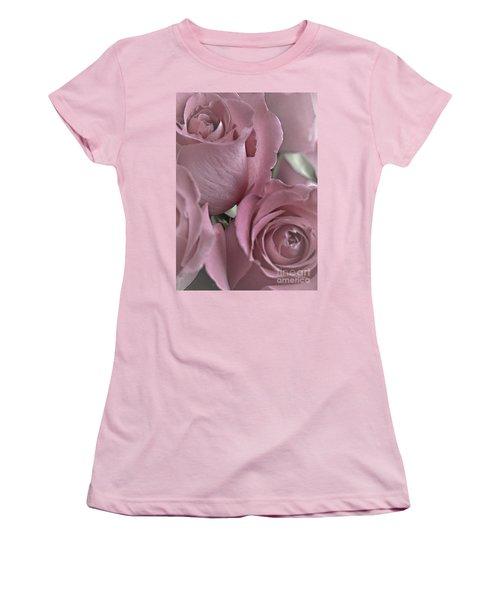 To My Sweetheart Women's T-Shirt (Junior Cut) by Sherry Hallemeier