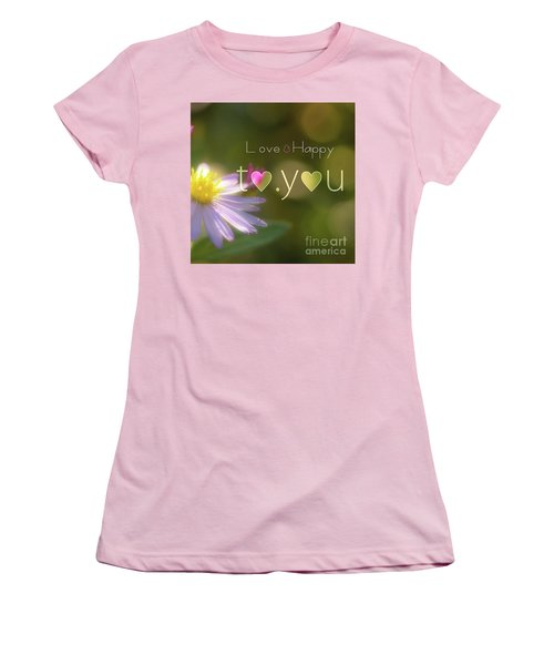 Women's T-Shirt (Junior Cut) featuring the photograph To You #003 by Tatsuya Atarashi