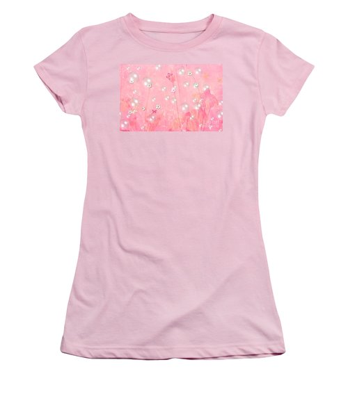 Touch Me In The Morning Women's T-Shirt (Junior Cut) by Sherri's Of Palm Springs