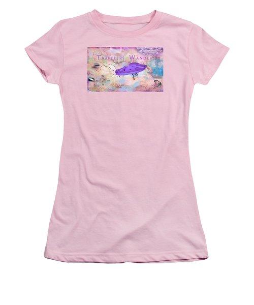 Treasure Map Women's T-Shirt (Athletic Fit)