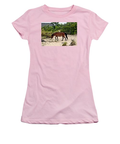 Turn Right At The Next Bush Women's T-Shirt (Athletic Fit)