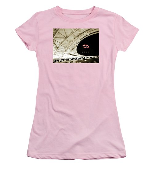 Women's T-Shirt (Junior Cut) featuring the photograph Union Station Denver by Marilyn Hunt