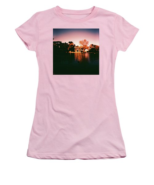 Villa Borghesse Rome Women's T-Shirt (Athletic Fit)