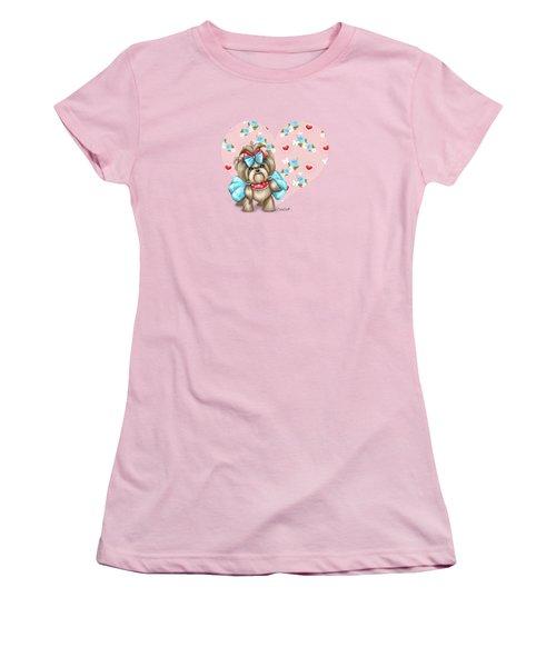 Welcome Spring Women's T-Shirt (Junior Cut) by Catia Cho