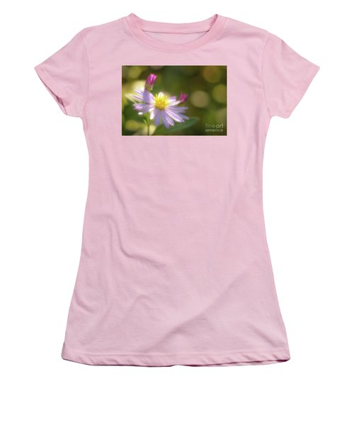 Women's T-Shirt (Junior Cut) featuring the photograph Wild Chrysanthemum by Tatsuya Atarashi