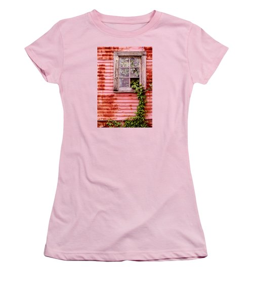 Window Of Ivy Women's T-Shirt (Athletic Fit)