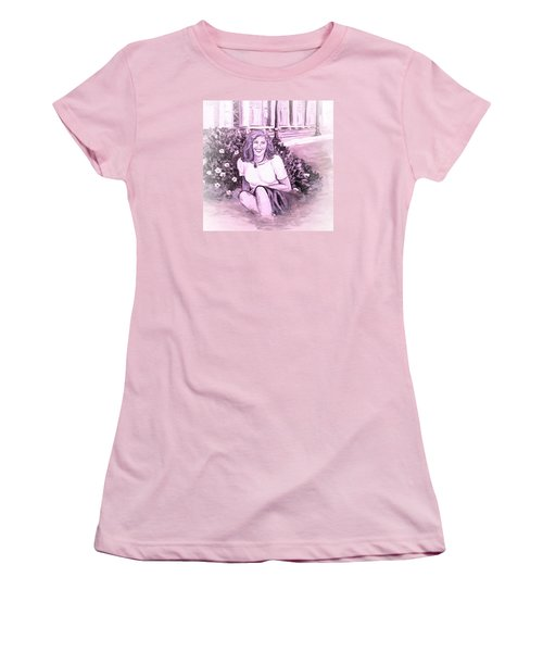 Yesterday At Kirkwood Station Women's T-Shirt (Junior Cut) by Alexandria Weaselwise Busen