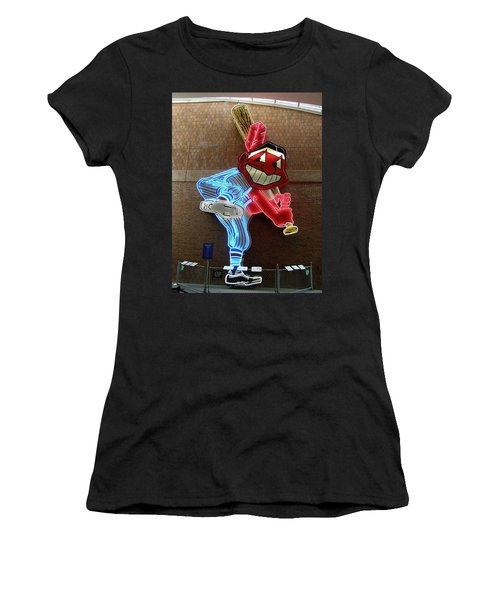 Chief Wahoo Women's T-Shirt (Athletic Fit)