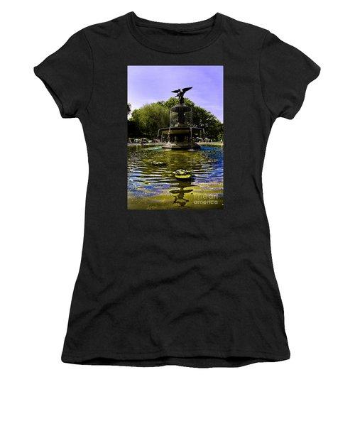 Bethesda Fountain - Central Park  Women's T-Shirt