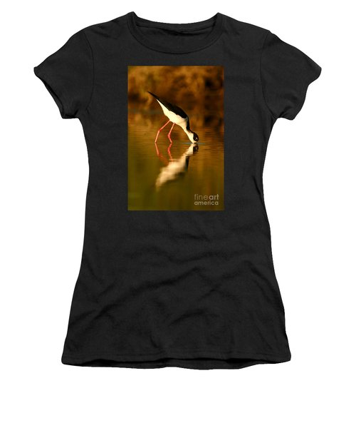 Stilt In Gold Women's T-Shirt