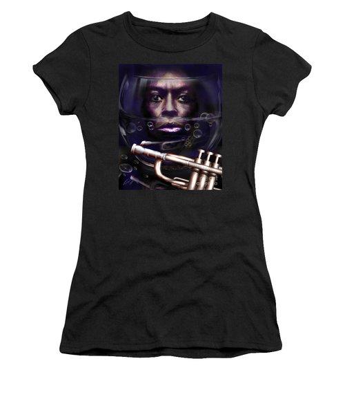 Fish Bowl Of Miles  Women's T-Shirt