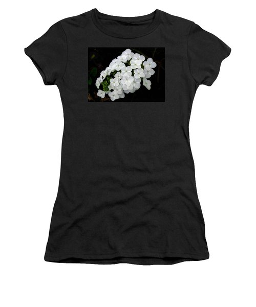 Oak Leaf Hydrangea Women's T-Shirt (Athletic Fit)