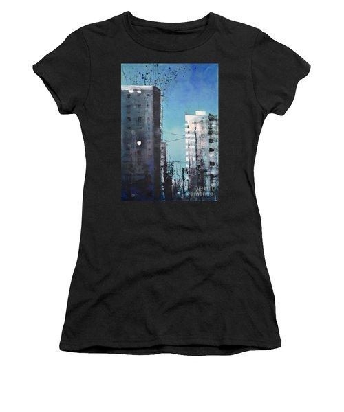 Rotterdam Women's T-Shirt (Athletic Fit)