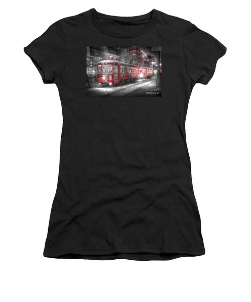 0271 New Orleans Street Car Women's T-Shirt
