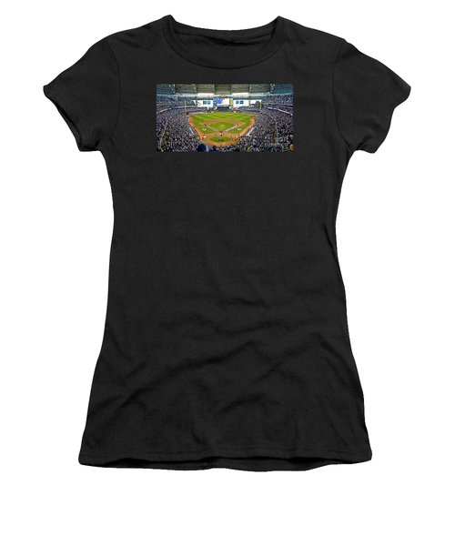 0546 Nlds Miller Park Milwaukee Women's T-Shirt