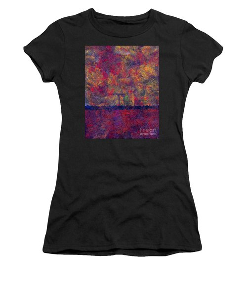 0799 Abstract Thought Women's T-Shirt (Athletic Fit)
