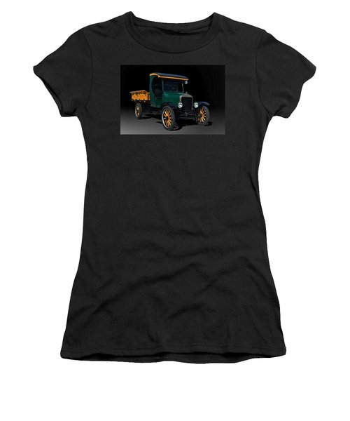 1923 Ford Model Tt One Ton Truck Women's T-Shirt (Junior Cut) by Tim McCullough