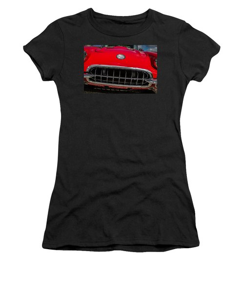 1958 Chevrolet Corvette Grille Women's T-Shirt