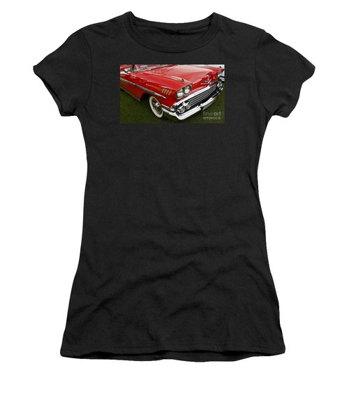 1958 Chevy Impala Women's T-Shirt (Athletic Fit)