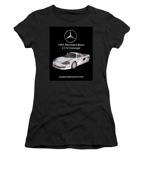 1991 Mercedes Benz C 112 Concept Women's T-Shirt