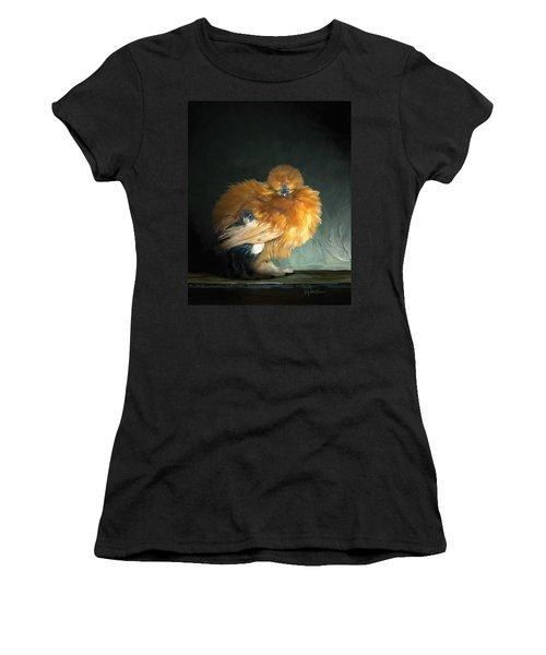 20. Hiding Women's T-Shirt (Athletic Fit)
