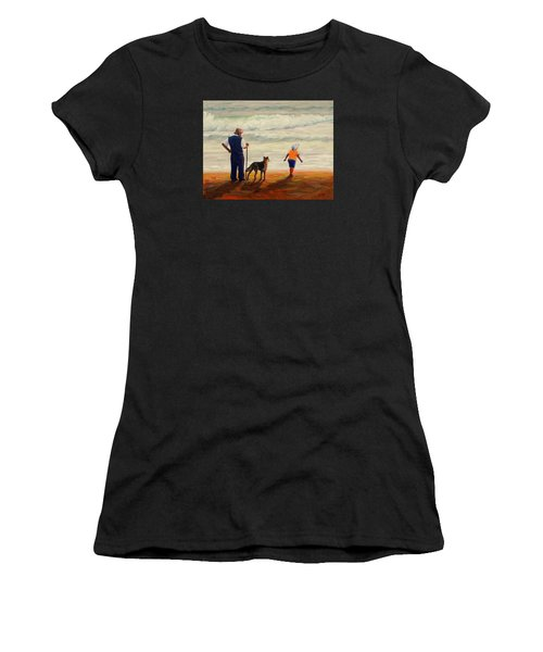 A Wish To The Waves, Peru Impression Women's T-Shirt (Athletic Fit)