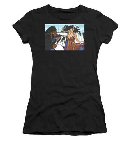 Artist At Work Women's T-Shirt