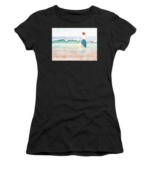 At The Beach Women's T-Shirt