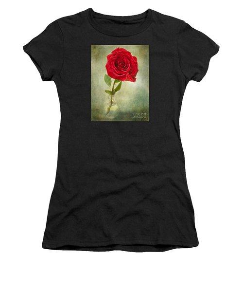 Beautiful Rose Women's T-Shirt (Athletic Fit)