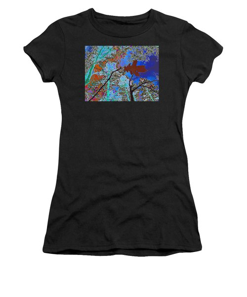 before the descent BLUE Women's T-Shirt