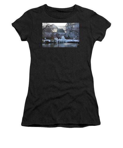 Belle Isle Conservatory Pond 2 Women's T-Shirt