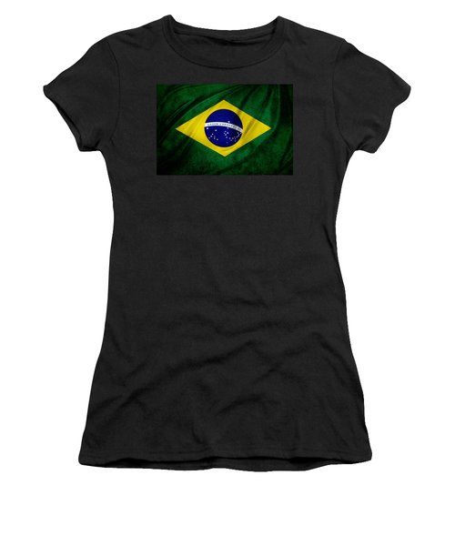 Brazilian Flag Women's T-Shirt