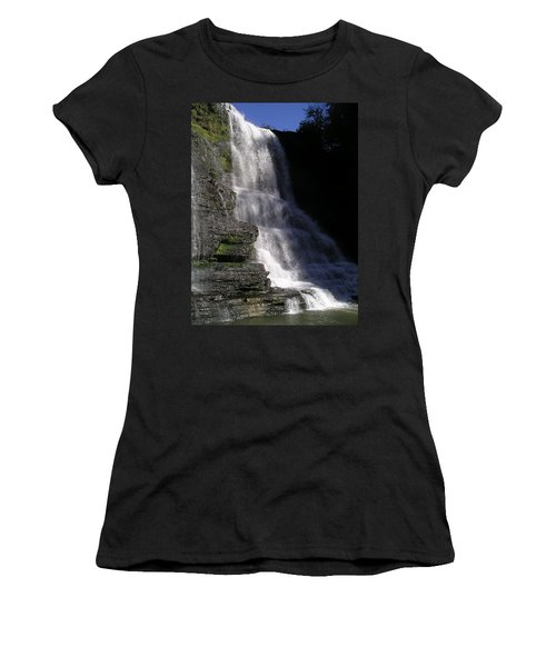 Burgess Falls Women's T-Shirt (Athletic Fit)