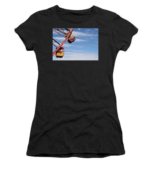 Carousel Twist Women's T-Shirt (Athletic Fit)