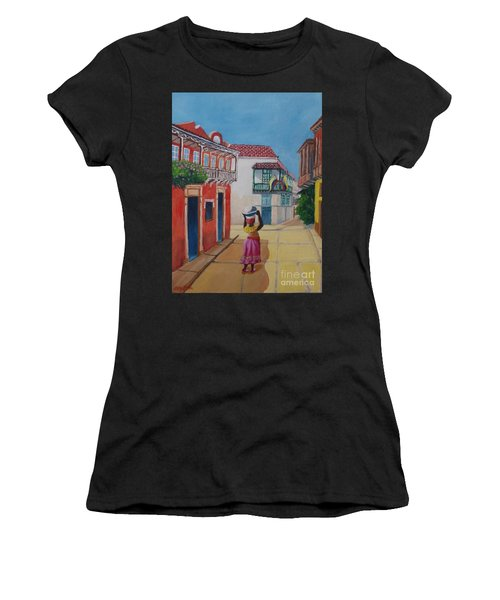 Cartagena Seller Women's T-Shirt (Athletic Fit)
