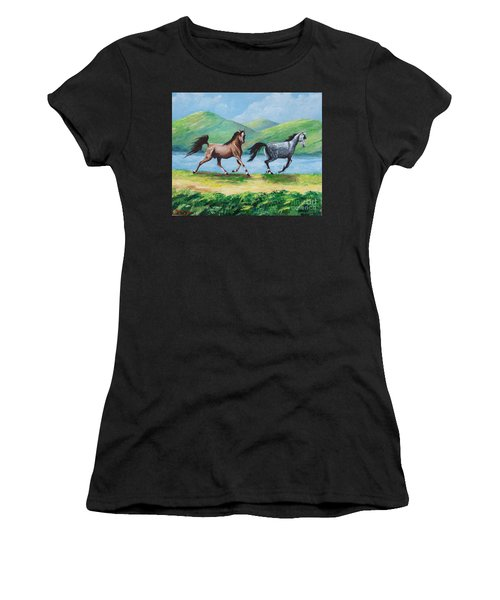 Colt And Mare Women's T-Shirt