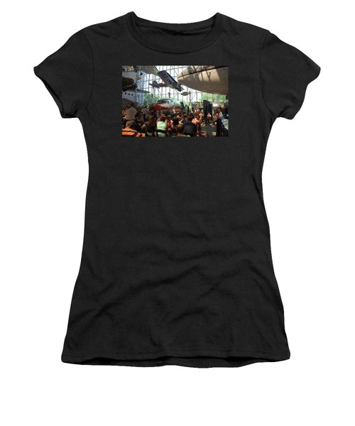 Concert Under The Planes Women's T-Shirt (Athletic Fit)