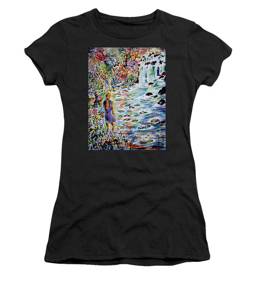 Daughter Of The River Women's T-Shirt (Athletic Fit)