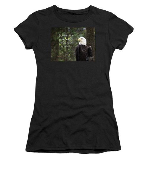 Eagle Scripture Women's T-Shirt
