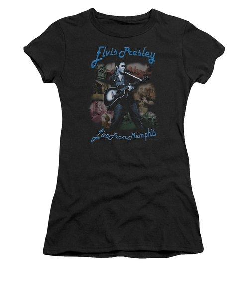 Elvis - Memphis Women's T-Shirt (Athletic Fit)