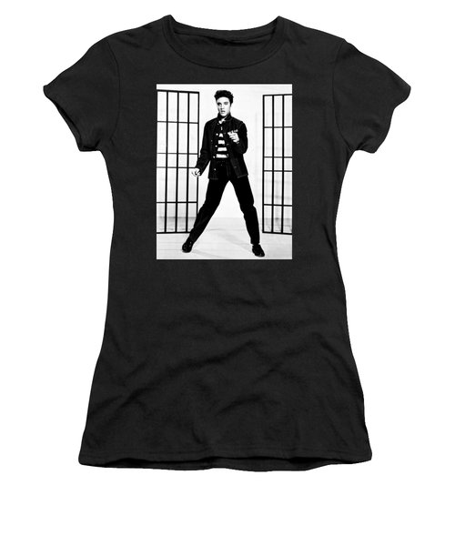 Elvis Presley Women's T-Shirt (Athletic Fit)