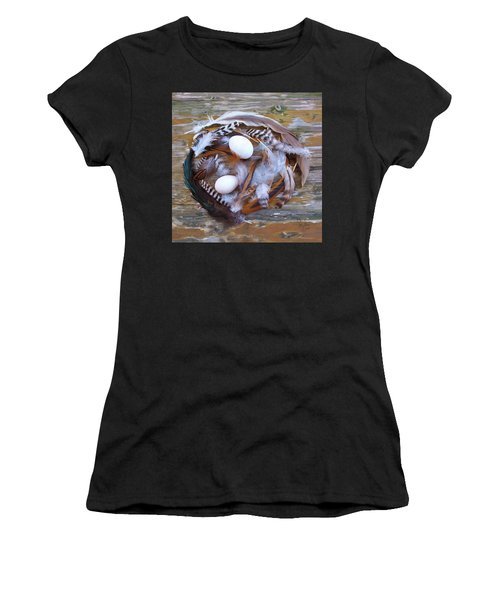1. Feather Wreath Example Women's T-Shirt
