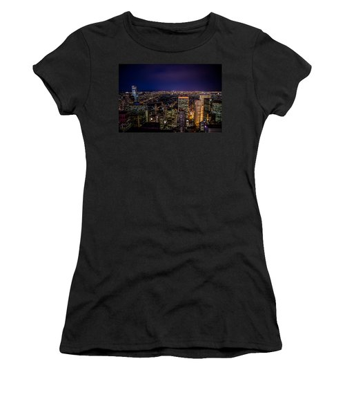 Field Of Lights And Magic Women's T-Shirt