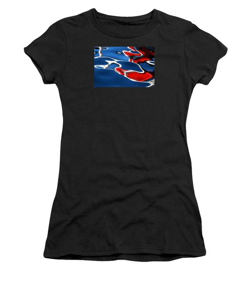 Floating On Blue 5 Women's T-Shirt (Athletic Fit)