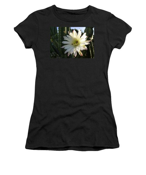 Flowering Cactus 1 Women's T-Shirt (Athletic Fit)
